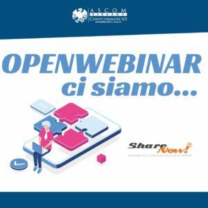Open Webinar Ascom Bergamo ShareNow!